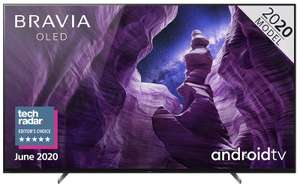 """Sony BRAVIA KD65A85BU 65"""" OLED SMART 4K ULTRA HD HDR Android TV £1,799 at Centres Direct"""
