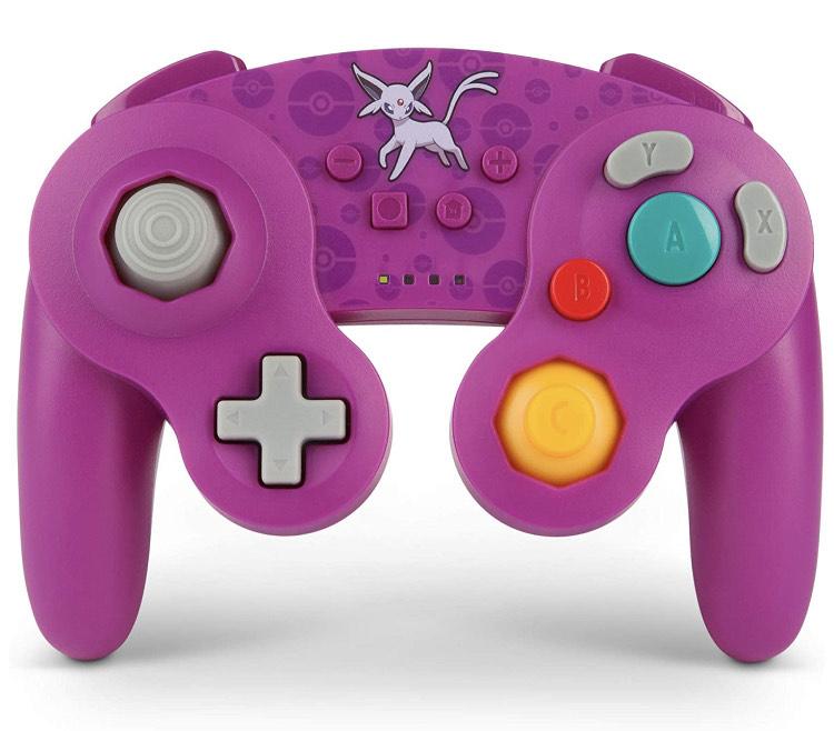 PowerA Pokemon Wireless Officially Licensed GameCube Style Controller/Super Smash Bros. £28.48 at Amazon