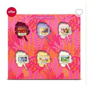 Yankee Candle 6 Votive Gift Set - Spring/Summer,3 For 2/ £9.99 + £3.50 delivery at Boots