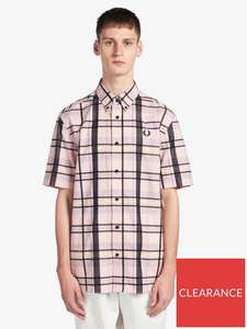 Fred Perry Short Sleeved Tartan Shirt £15.99 delivered @ Very