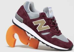 Red New Balance Made in UK 670 Trainers - £100 Delivered @ Size?