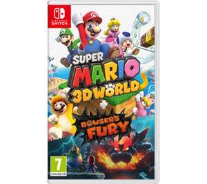 Super Mario 3D World & Bowser's Fury + Pikmin 3 Deluxe £65.68 @ Currys