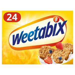 Weetabix 24 Packs all varieties - 2 for £4 (+ Delivery Charge / Minimum Spend Applies) at Morrisons