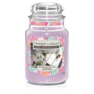 Yankee Candle Home Inspiration Offers (Large Jars £9 and Medium Jars £6.50) (+ Delivery Charge / Minimum Spend Applies) @ Tesco
