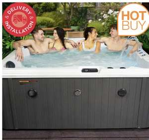 Blue Whale Spa Noble Bay 54-Jet 5 Person Hot Tub - Delivered and Installed - £4,999.89 @ Costco