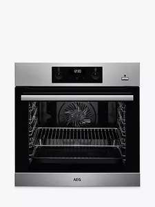 AEG SteamBake BES355010M Single Built-In Electric Steam Oven (Free Recycling, Half Price Install) £348 delivered @ John Lewis & Partners