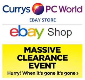 20% Off Selected Items @ Currys_Clearance / eBay - eg RAVPower official for £115.49