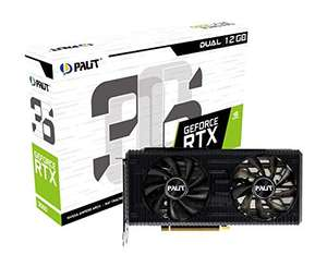 Palit GeForce RTX 3060 Dual 12GB GDDR6 Graphics Card, 3584 Core, 1320 MHz GPU, 1777 MHz Boost £399 / OC £409 delivered @ Amazon