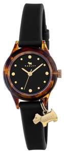 Radley Watch It Ladies' Black Dial Silicone Strap Watch now £15.99 delivered, using code @ H Samuel