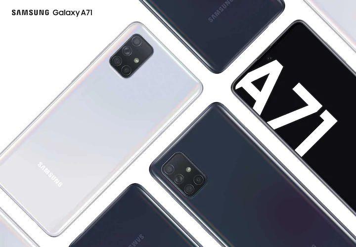 30% Off Samsung Galaxy A71 - £298.30 (£260 With Trade) / Samsung Galaxy A51 Smartphone - £230.30 (£195 With Trade) With Code @ Samsung
