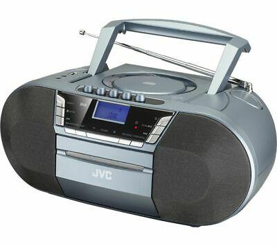 JVC RC-D327B DAB/FM Bluetooth Boombox, Grey - £39.99 delivered @ Currys PC World / eBay
