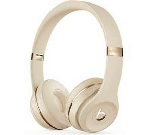 Beats Solo 3 Wireless Bluetooth Headphones - Satin Gold - £45.97 delivered @ Currys PC World / eBay