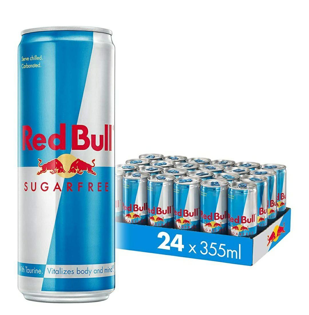 355ML Red Bull Energy Drink Sugar Free 24 Pack £27.69 @ Amazon