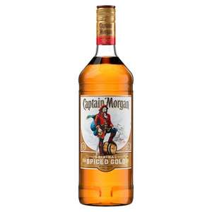 Captain Morgan Original Spiced Gold Rum - 1L £16.98 (+ Delivery Charge / Minimum Spend Applies) at Asda