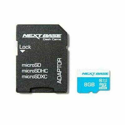 Nextbase 8GB Class 10 Micro SD Card For Dash Cam Camera Car DVR £1.99 at Ebay velocityelectronics