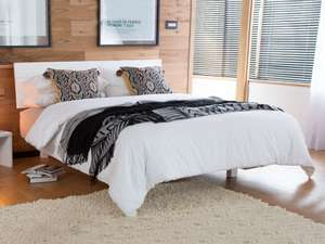 """30% saving on """"Floating Bed"""" (Space Saver) designs from UK-based solid wood bed frame manufacturer from £259 + £25 delivery at Get Laid Beds"""