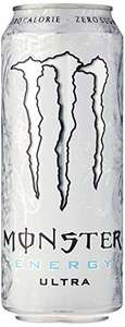 Monster Energy Ultra Drink 500ml Can (Pack of 12) £10.50 Prime / +£4.49 Non-Prime - Amazon