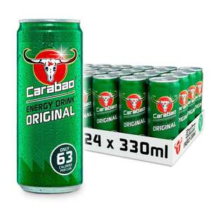 Original 330ml (Pack of 24) of Carabao delivered @ Carabao Energy