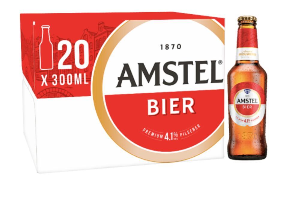 40 x 300ml Amstel Lager Beer Bottles | 40 * 275ml Beck's German Pilsner Beer Bottles For £18 (Minimum Basket / Delivery Fees Apply) @ Asda
