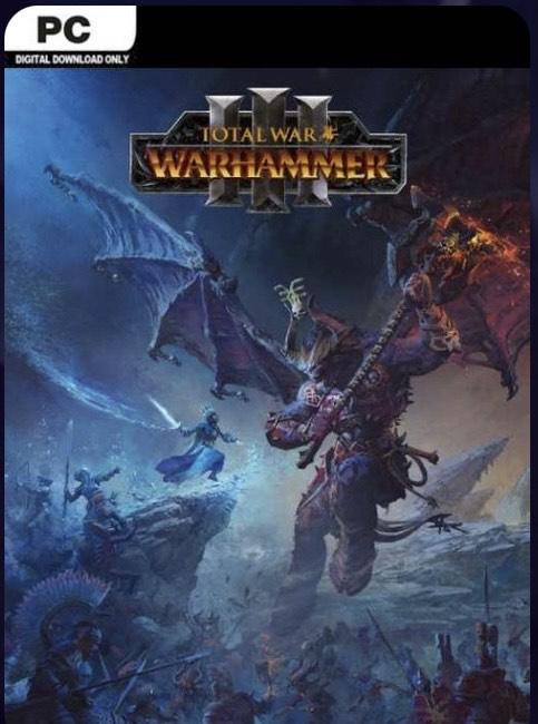 Total war Warhammer 3 PC pre order £33.99 at CDKeys