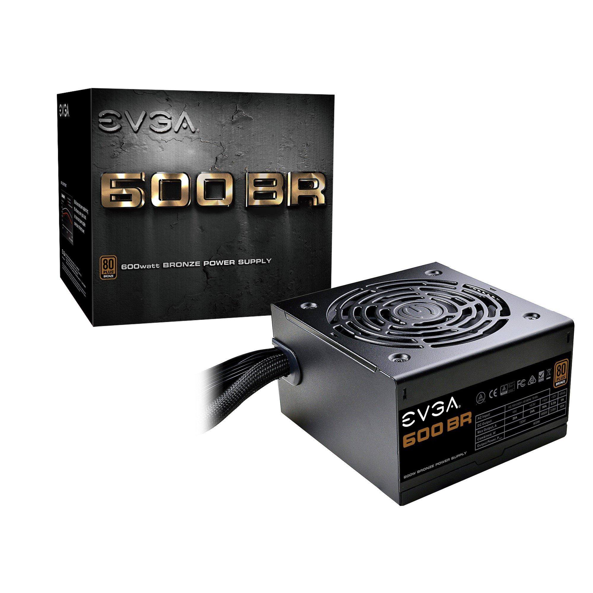 EVGA 600 BR 600W 80+ Bronze PSU - £50.82 @ CCL Online