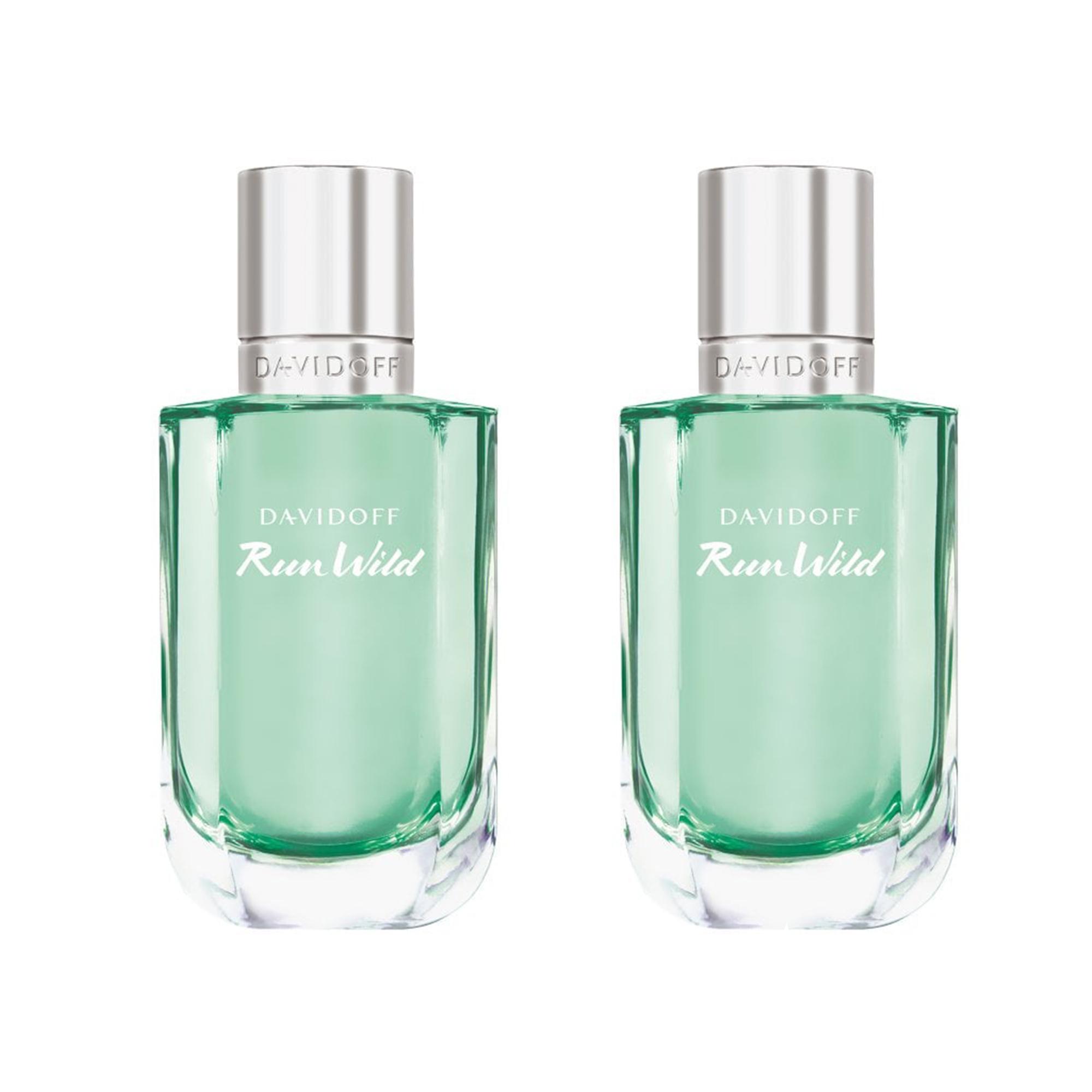 TWO x Bottles of Davidoff Run Wild For Her 100ml Eau De Parfum £25 + Free UK mainland delivery using code @ Beauty Base
