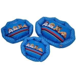 30% off Paw Patrol collection of dog supplies (bowl, harnesses, beds) using code and free delivery @ Bunty