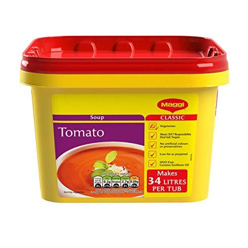 MAGGI Tomato Simmer Soup, 2 kg (makes 200 servings) - £8.48 Prime (+4.49 Non Prime) @ Amazon