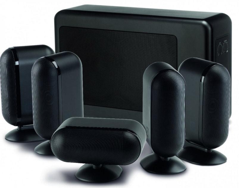 Q Acoustics 7000i 5.1 Slim Speaker Package - Black £659 at Peter Tyson Audio Visual