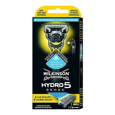 Wilkinson Sword Hydro 5 Sense Energize Men's Razor - £4.80 delivered @ crazykangaroo2014 / eBay