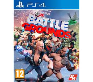 WWE 2K Battlegrounds PS4 and Xbox £12.97 at Currys PC World