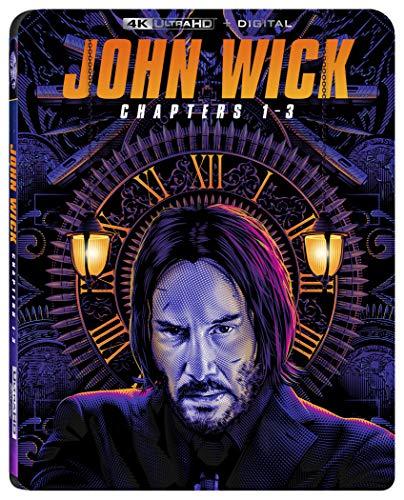 John Wick 1-3 4K UHD (US Version) £25.80 via Amazon US