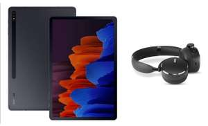 Samsung Galaxy Tab S7+ Wi-Fi Android Tablet Mystic - Black (UK Version) + Free AKG Y500 Headphones - £655 @ Amazon
