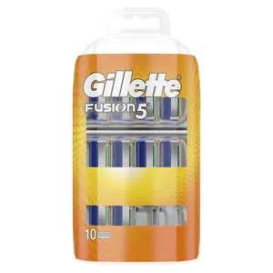 Gillette Fusion Manual Razor Blades x10 - £11.73 + £3 delivery at Superdrug