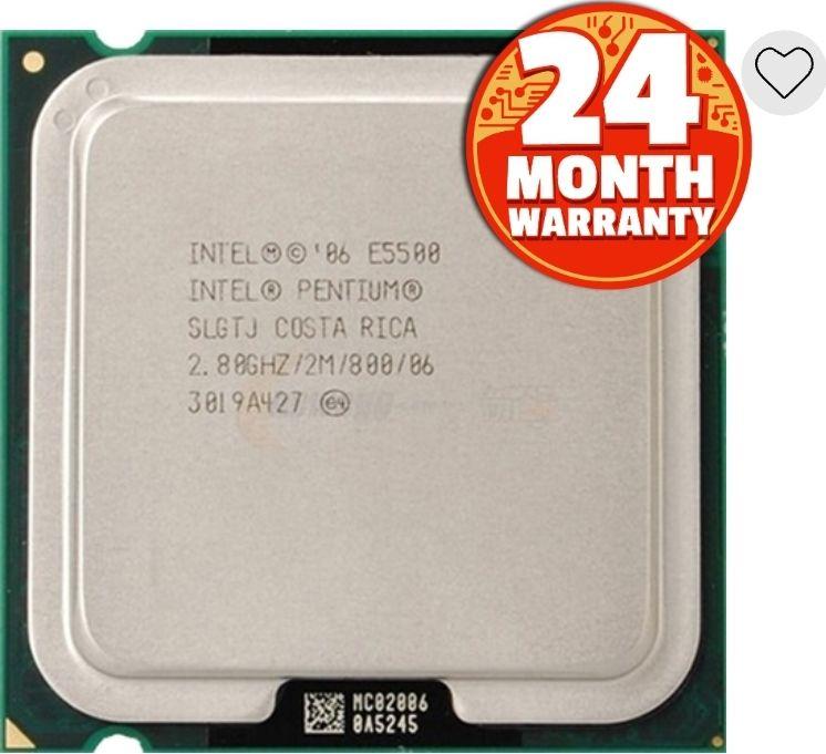 Intel Pentium E5500 (2.8Ghz) LGA775 25p + £1.95 delivery @ CEX