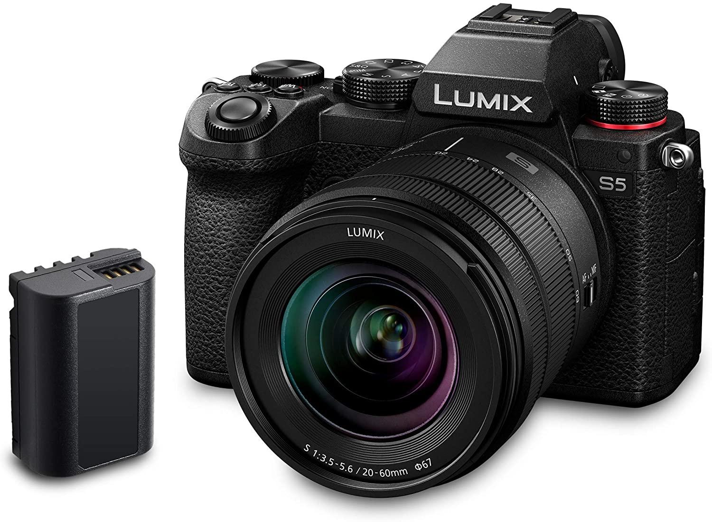 Panasonic LUMIX DC-S5 S5 Full Frame Mirrorless Camera body - £1659 @ Amazon