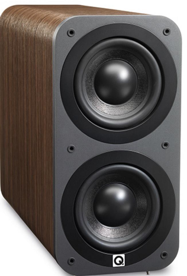 Q Acoustics 3070S Subwoofer - American Walnut £169 @ Peter Tyson Audio Visual