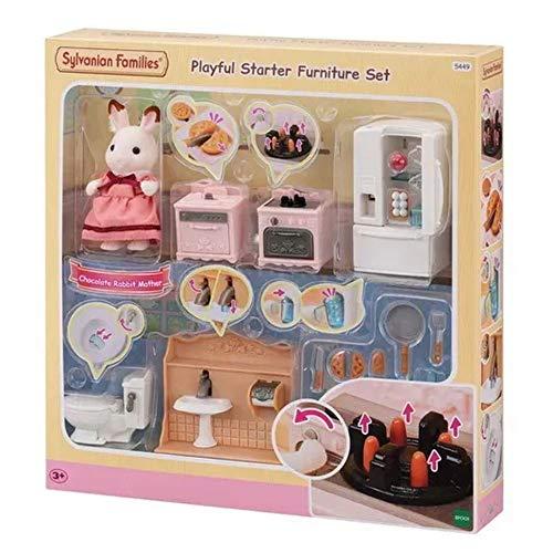 Sylvanian Families 5449 Playful Starter Furniture Set Doll House Accessories £22.99 @ Amazon