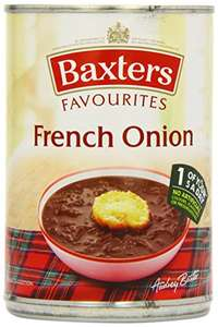 Baxters Favourite French Onion Soup 400 g (Pack of 12) £9.60 + £4.49 NP @ Amazon