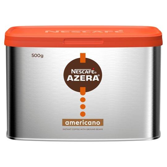 Nescafe Azera Americano 500g for £4 (Minimum Spend / Delivery Fee Applies) @ Tesco