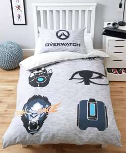 Overwatch Bedding Set Single Now £7 / Double £9.99 Delivery is £3.95 @ Argos