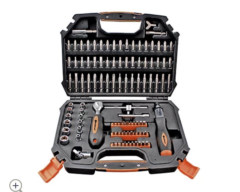 Buildcraft 101 Piece Ratchet Screwdriver & Socket Set £14.96 + £4.95 del at QVC