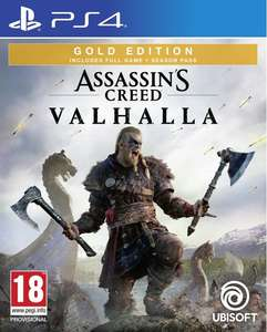 Assassin's Creed Valhalla Gold Edition PS4 £49.95 at Coolshop with season pass