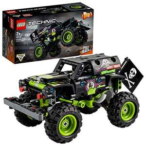 LEGO Technic 42118 Monster Jam Grave Digger Truck Off-Road Buggy Pull Back 2-in-1 Toy - £12.84 Prime/ +£4.49 np (UK Mainland) at Amazon EU
