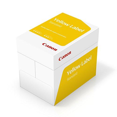 Canon Yellow Label A4 80gsm Paper - Box of 5 Reams (5x500 Sheets) £13.98 prime / £18.47 nonPrime @ Amazon Prime