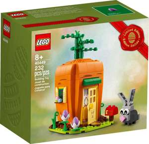 Free LEGO 40449 Easter Bunny's Carrot House with all purchases over £60 (from 15th March) @ LEGO Shop