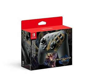 Nintendo Switch Pro Controller Monster Hunter Rise Edition £59.49 boss_deals ebay