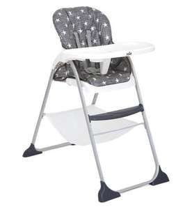 Boots Online Only: Joie Mimzy Snacker Highchair - Twinkle Linen £38.50 at Boots