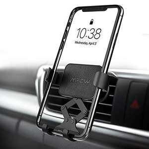 Mpow Auto-Clamping Car Vent Phone Holder £5.99 Prime / £10.48 Non Prime using code Sold by SJH EU LTD and Fulfilled by Amazon