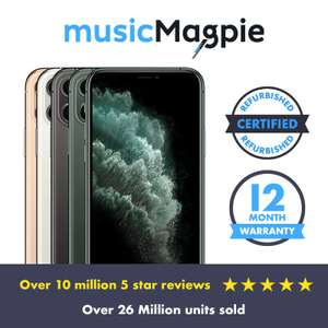 iPhone 11 Pro Max 64GB good condition unlocked- various colours @ MusicMagpie Ebay